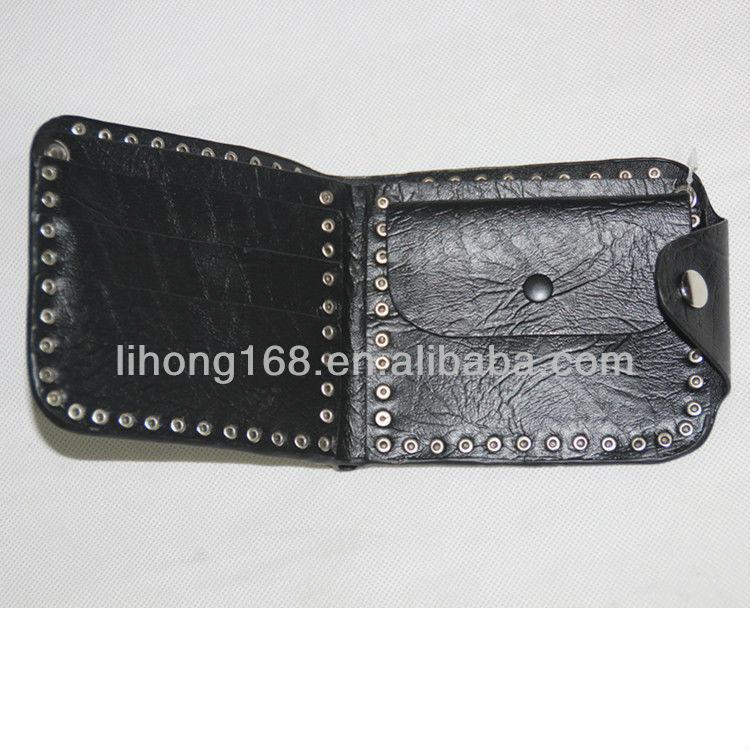 Top shop popular style quilt fashion wallet men