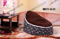 Baby Бин мешок крышка с 2шт черные вверх крышка ребенка стул мешка фасоли сиденья крышка baby Бин мешок кресло дети диван ленивый