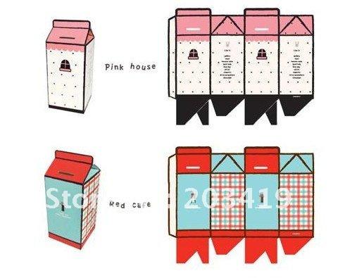 Копилка из бумаги шаблоны