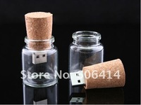 Real 2GB/4GB/8GB/16GB/32GB USB Flash Drive Pen Drive Memory Stick Glasses Bottle Shape Drop Shipping