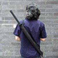 1,25 м 1piece японский самурай ниндзя Катана зонтик подарок черный mito зонтик зонтик самурайский меч УФ