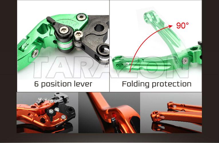 CNC aluminium alloy motorcycle 690 Duke adjustable motorcycle street bike brake & clutch levers