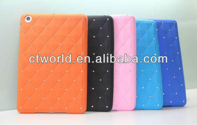 For Silicone glitter ipad 2 case