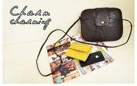 Сумка через плечо women bag high quality PU very fashionable simple design big style vintage coffee color