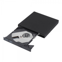 Накопитель на оптических дисках hot selling Slim Portable USB 2.0 8X External Optical DVD-ROM Drive for Laptop & Desktop Black