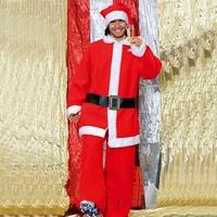 Мужской маскарадный костюм Santa suit men clothing Non-woven fabrics men Christmas clothes gift / ornament