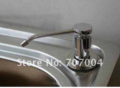 220 ml de stailess cocina de acero fregadero dispensador - Dispensador de jabon cocina ...