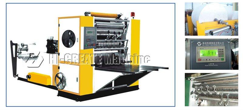 HC-L/N Automatic N-folding Towel making machine