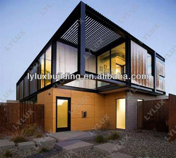 2 층 철강 구조 현대적인 모듈 식 별장 조립식 이동 주택 휴대용 ...