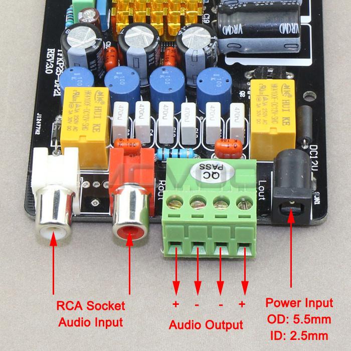 аудио схема усилителя