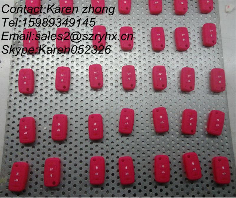 New silicone car key case for HYUNDAI car key case