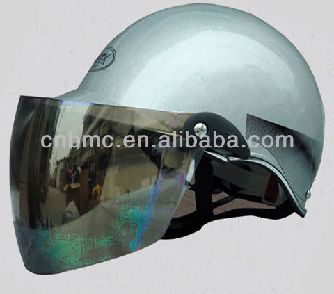 ABS half helmet with visor