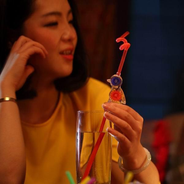 Соломинка для питья 10pcs Disposable Novelty Bird Winnower Drinking Straws Birthday Wedding Party Use Bar Accessories