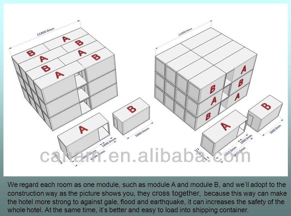 컨테이너 휴대 캡슐 호텔-조립식 주택 -상품 ID:60509394354-korean ...