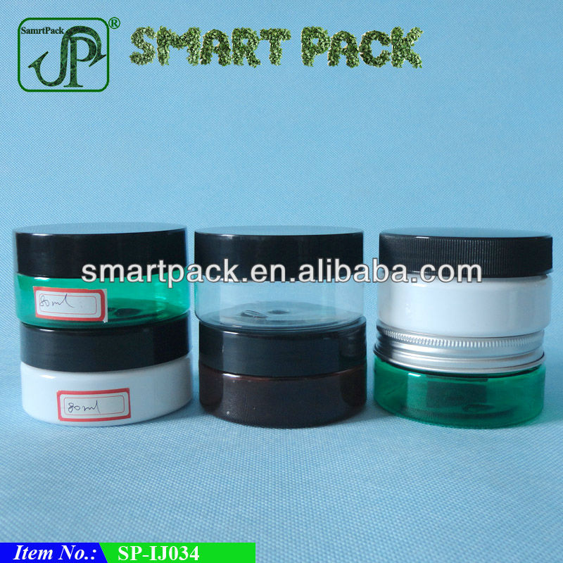 80ml cosmetic jar with lid