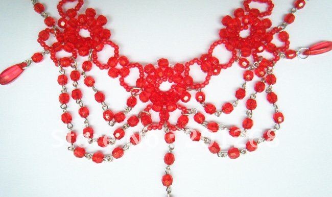 red necklace04