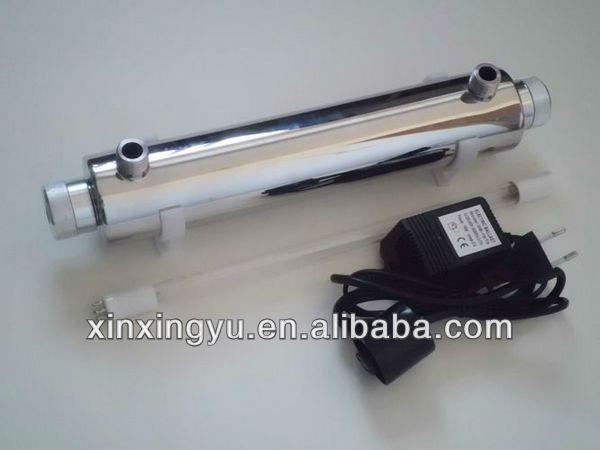 16W stainless steel UV light sterilizer