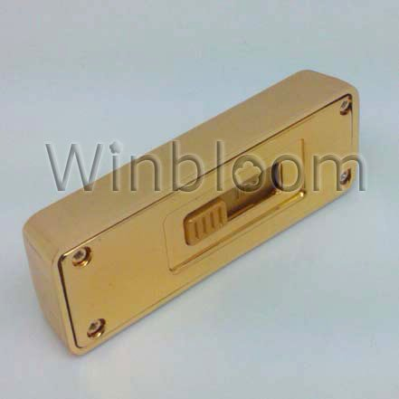 "Small Gold Bar USB Flash Drive 2GB 4GB 8GB 16GB Real Capacity FREE Shipping USB Memory Stick - "" FINE GOLD 999.9 """