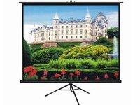 высокое качество экрана штатив 60' 16:9, Портативный экран, штатив проекционный экран с матовой белой