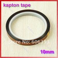 Электроизоляционный материал 10mm 1.0cm X 33m 100ft Kapton Tape High Temperature Heat Resistant Polyimide