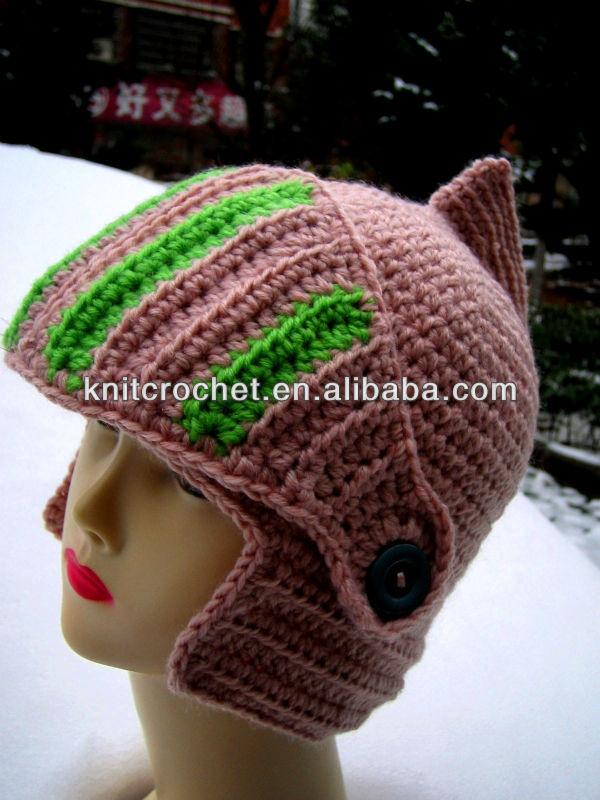 Santa Pattern Knit 100 Hand Knit Crochet Santa