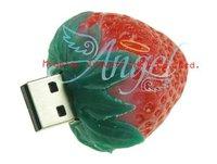USB-флеш карта Strawberry 1GB 2GB 4GB 8GB 16GB 32GB 64GB USB Flash Drive with High Speed Chip+ #CC051
