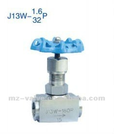 PTFE sealed stainless steel NPT Needle valve