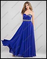 Платье на студенческий бал Long Sweetheart 2012 Prom Dress PE283