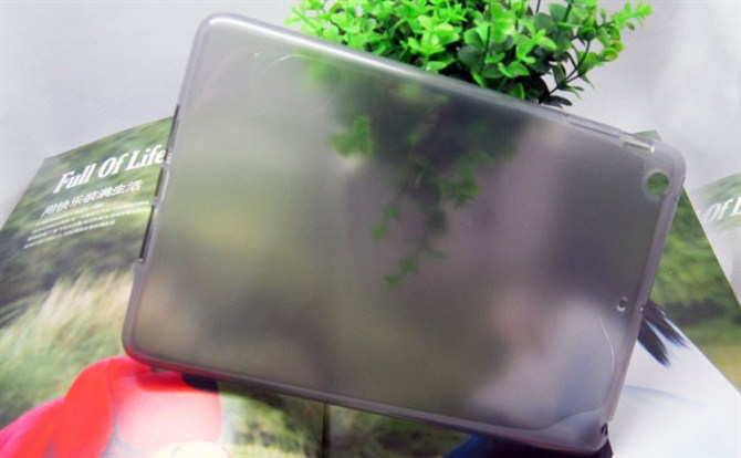Wholesale for ipad mini case matt clear transparent design 2014