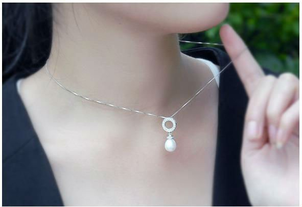 fine jewelry,natural peal,silver jewelry,accessory, supply,SP0553PL