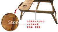 Складной стол Hot selling folding three layer bamboo laptop desk, Multi-functional laptop table B09