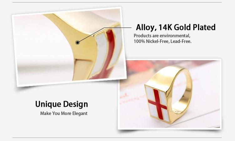 Кольцо Neoglory Jewelry Neoglory 14K