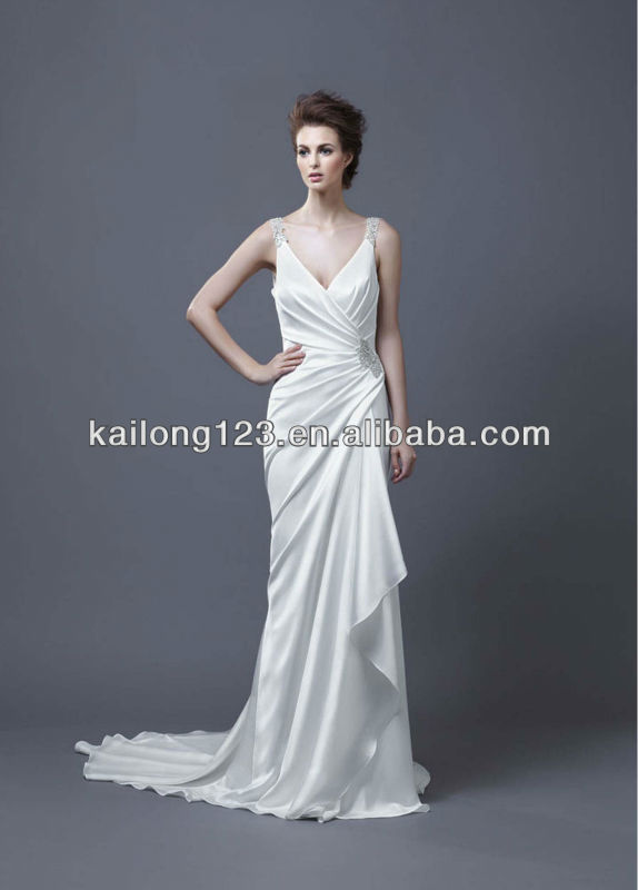 Wedding Dresses Wrap Style Wedding Dress