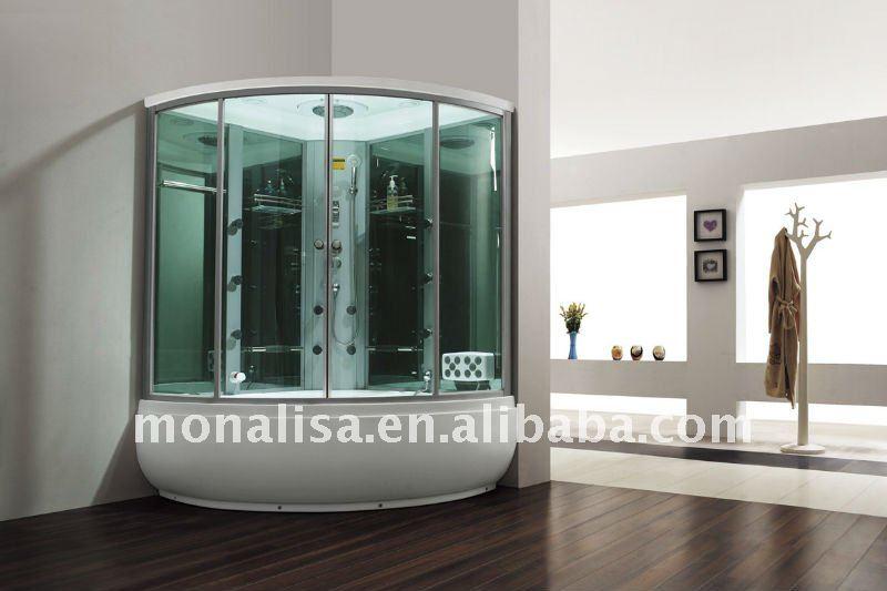Monalisa acrylique quadrant douche porte rouleaux avec for Porte douche plexiglas