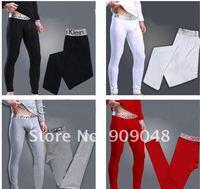 Free Shippng Man Pants Thermal Pants Long Johns 5 Colors Comfortable Warm Winter Pants