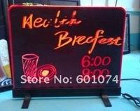 Конденсатор Table Type LED Fluorescent Handwriting Menu Sign board 25*35cm