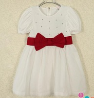 Платье для девочек Pearl cotton gauze dress child | 2013 summer baby children's clothing korean edition girl dress