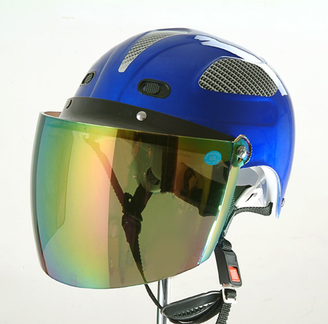 HUADUN half face motorcycle helmet blue motorcycle helmet summer helmet good quality and price HD-310
