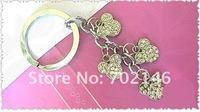 Брелок Key chains with Rhinestone Mickey zinc alloy with Chrome-plated DIY charms 1pcs