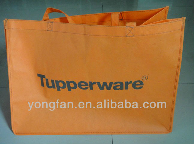 Promotion colorful non woven shopping bag