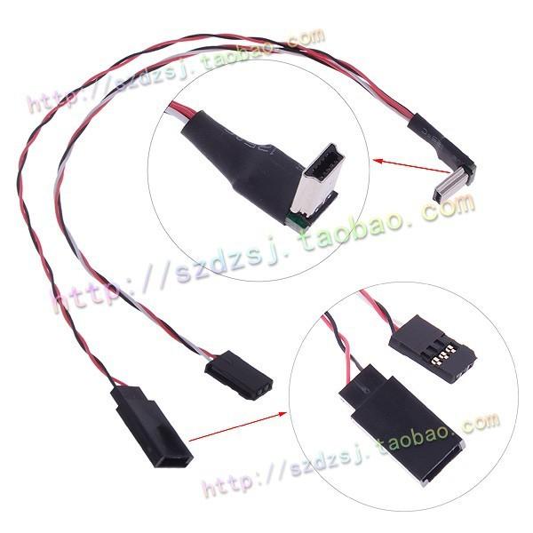 Запчасти и Аксессуары для радиоуправляемых игрушек DJI Phantom FPV USB /Gopro 3 Gopro AV