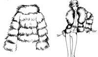 Fast free shipping++Fur coat, fur garment,high quality fashion ladies garment.