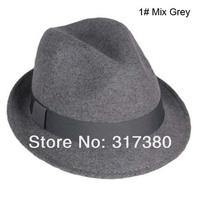 Мужская фетровая шляпа Made in China Fedora AutumnTrilby 1186