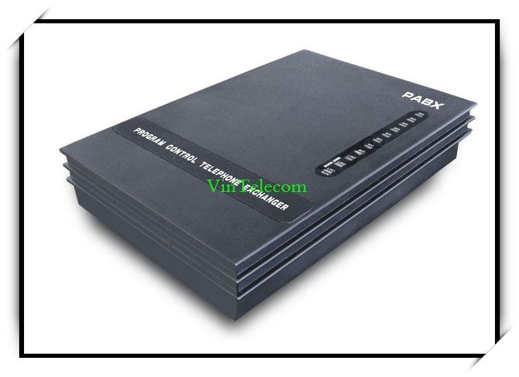 Мини атс / телефонный коммутатор атс 208 с 2 co линии и 8 ext. Vintelecom SV208