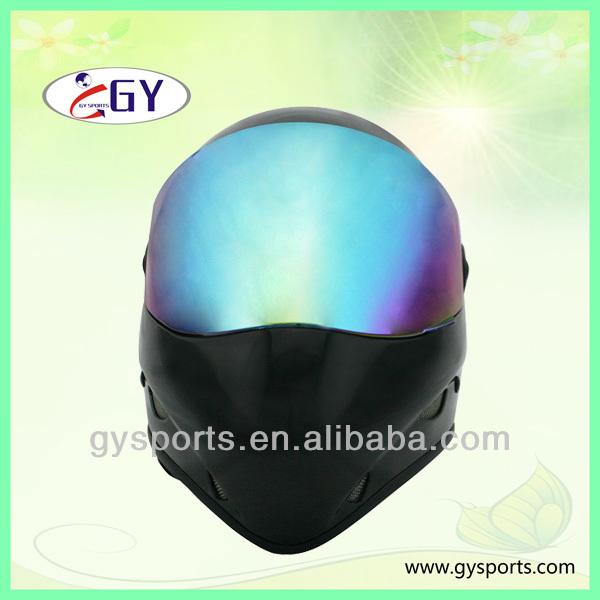 2014 Fiberglass Gliding helmet Paragliding helmets Downhill longbaord helmet for Head guard