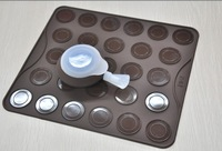 2012 hot sell Free shipping 27 holes macarons baking set