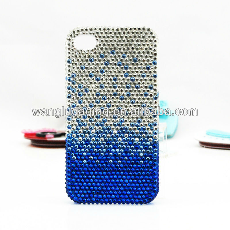 Full diamond cell phone cover for Iphone 4,4s,5 rhinestone cell phone cover for Apple iphone 4 cell phone covers