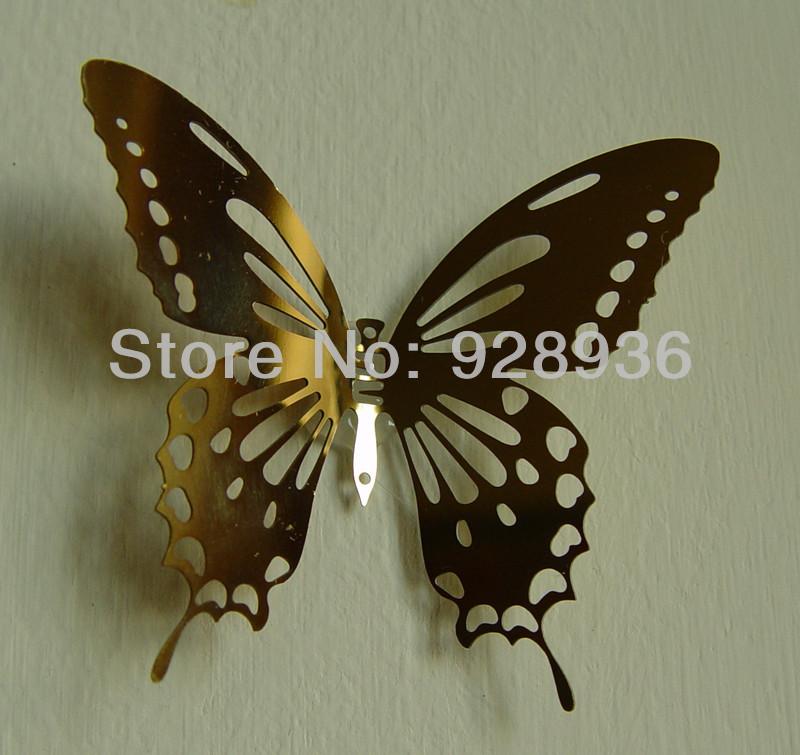 Butterfly Garden Metal Wall Art Decor Culpture Factor That Can