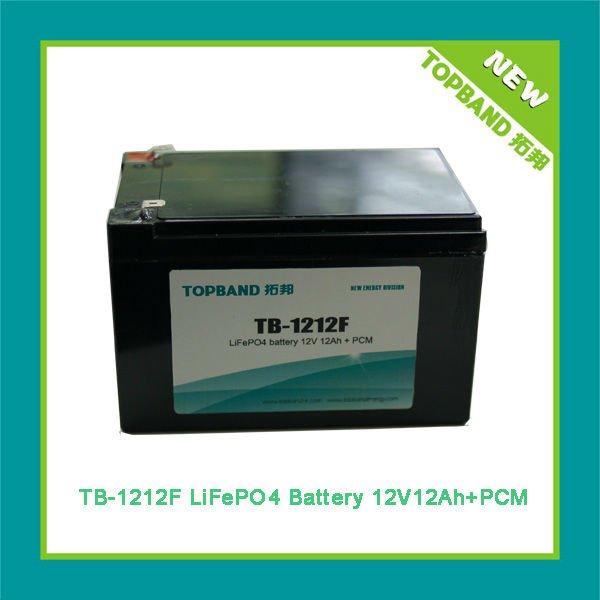 topbrand 12v lifepo4 battery pack