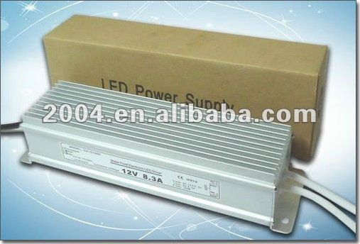 12v 100w waterproof led driver ip67